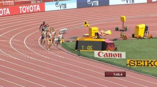 Melissa Bishop Chases Her Dream in the 800m at the IAAF World Championships