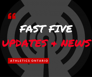 FAST FIVE UPDATES & NEWS