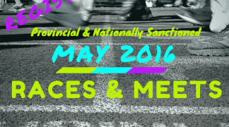 May 2016 Events & Races
