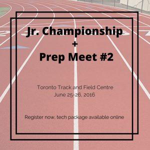 Jr. Championship + Prep Meet #2