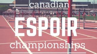 Athletics Ontario names Eastern Canadian Espoir Championships Team