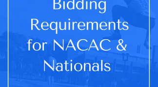 Bidding Opportunities for NACAC & 2019-2022 Canadian Championships