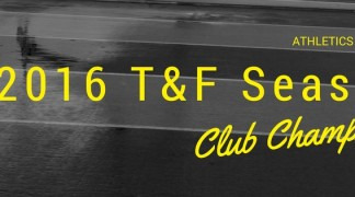 AO NAMES TRACK & FIELD 2016 CLUB CHAMPIONS