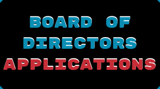 Board of Directors Call Out & Application