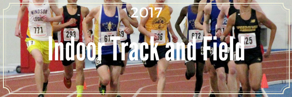 2017 AO Indoor Track and FIeld Championship Events