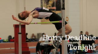 Entry Deadline Tonight: AO Combined Events Championship, Prep Meet 2 and Midget Team Trials