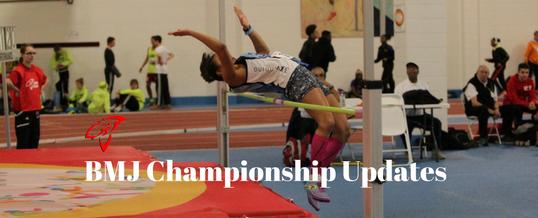 Indoor BMJ Championships Updates