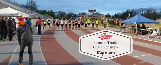 Staehli and Esselink take Ontario 10,000m championship titles