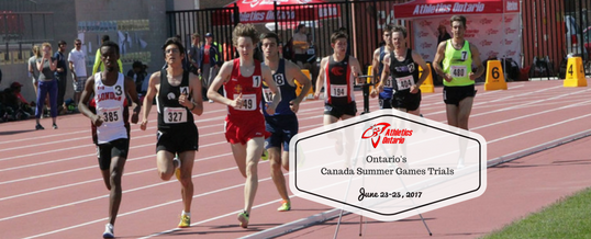 Volunteer Opportunity: Canada Summer Games Trials June 23-25
