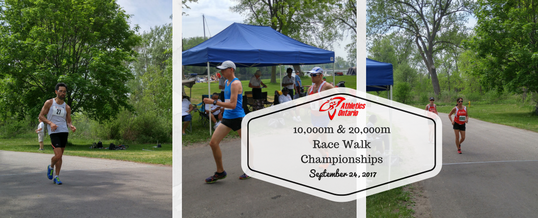 20K Race Walk Championships – September 24
