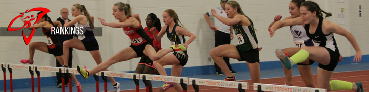 Athletics Ontario Rankings - Athletics Ontario