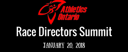 Athletics Ontario Race Directors Summit