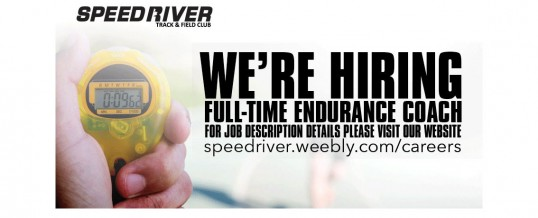 Speed River TFC is HIRING – Full-time Endurance Coach